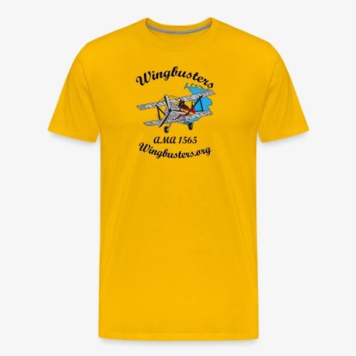 Wingbusters Black Logo - Men's Premium T-Shirt