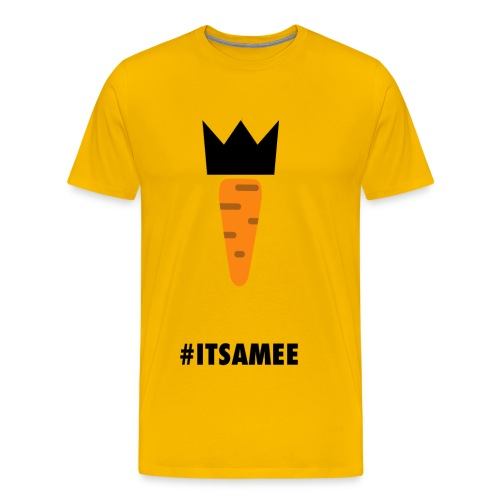 CARROT AND ITSAMEE black - Men's Premium T-Shirt