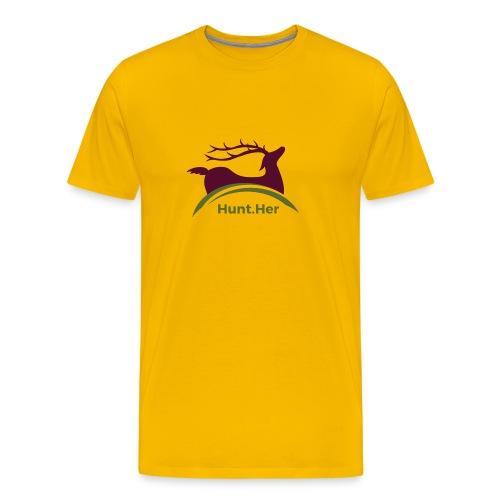 HuntHER Gear - Men's Premium T-Shirt