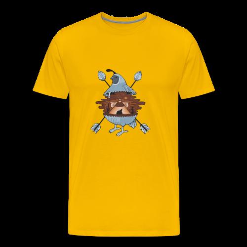 pigeon in the tent - Men's Premium T-Shirt