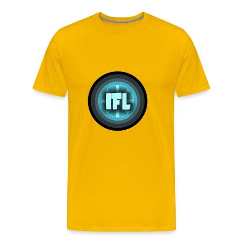 Logo Looper - Men's Premium T-Shirt