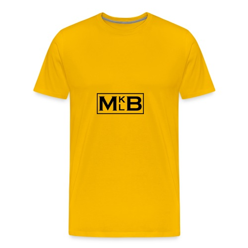 mklb logo -2 - Men's Premium T-Shirt