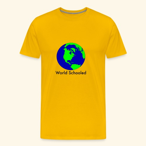 World Schooled - Men's Premium T-Shirt