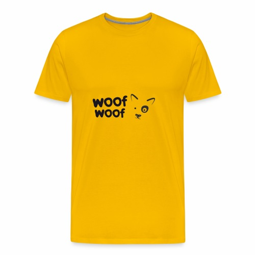 Woof Woof - Men's Premium T-Shirt