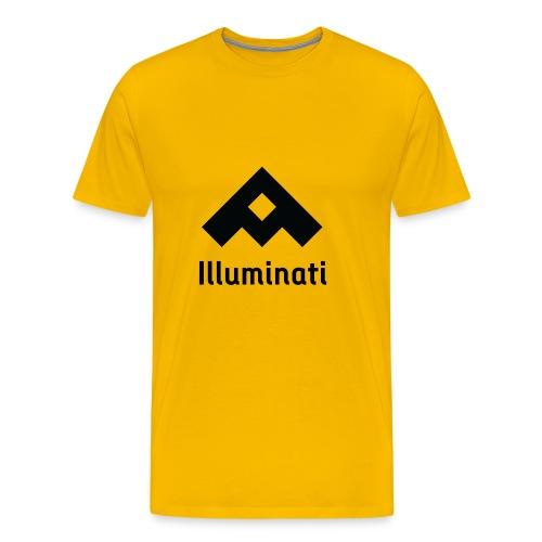 Illuminati Triangle - Men's Premium T-Shirt