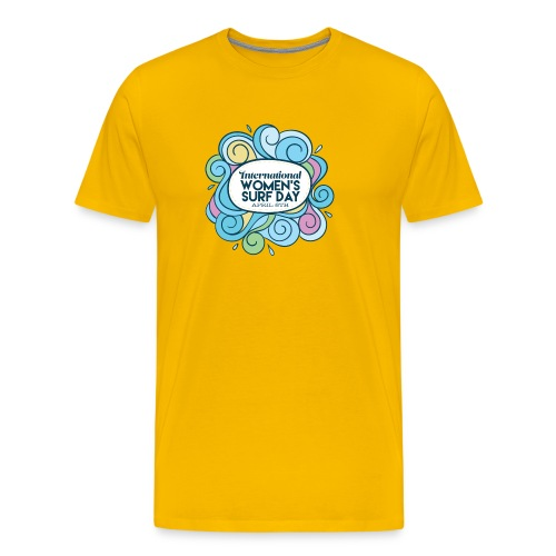 International Womens Surf Day - Men's Premium T-Shirt