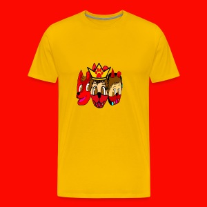 Furry, Normal, and Gamer KingRedDogChris - Men's Premium T-Shirt