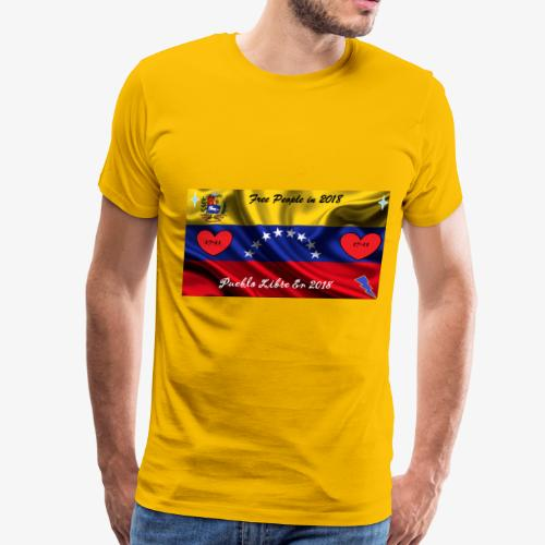 Free People in 2018 - Men's Premium T-Shirt