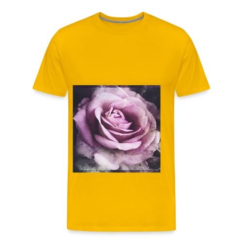 A flower - Men's Premium T-Shirt