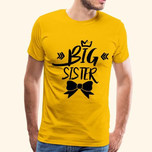 big sister - Men's Premium T-Shirt