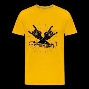 Rock Fists -black - Men's Premium T-Shirt