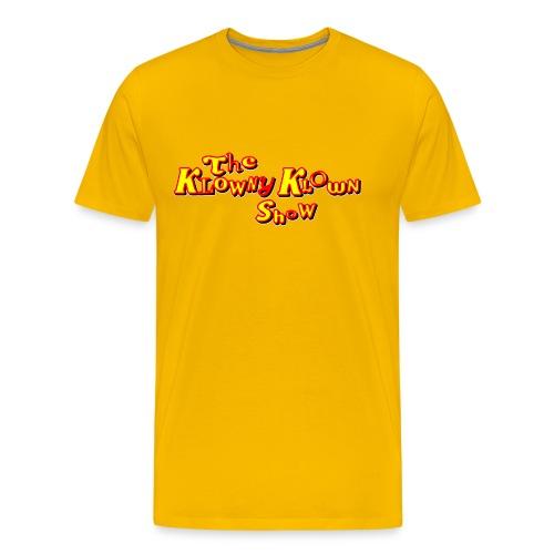 The Klowny Klown Show Logo - Men's Premium T-Shirt