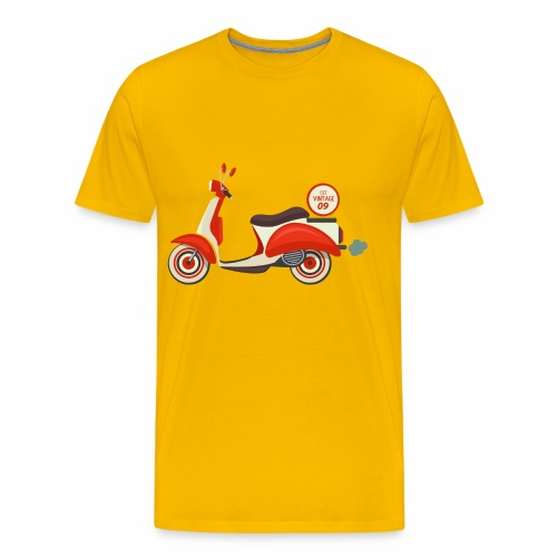 Scooter Vintage - Men's Premium T-Shirt