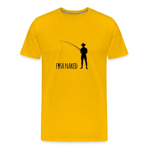 Fish Naked - Men's Premium T-Shirt