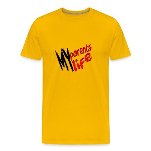 my parents my life - Men's Premium T-Shirt