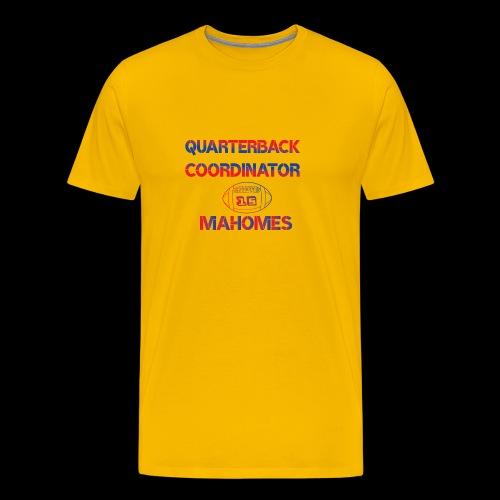 mahomes QurterBack Coordinator Patrick Legend KC - Men's Premium T-Shirt