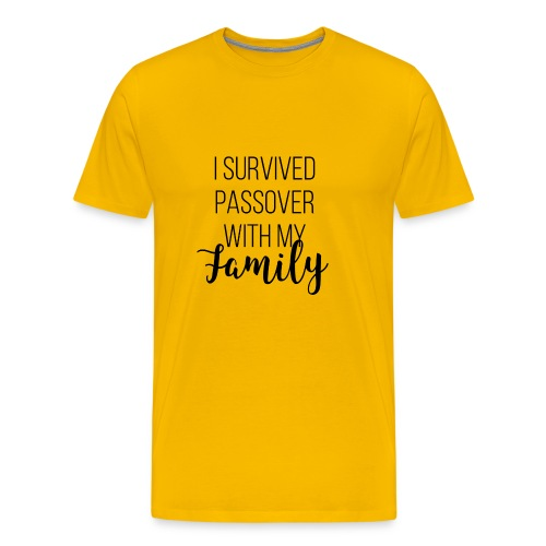 I Survived Passover with My Family - Men's Premium T-Shirt