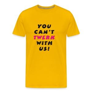 Twerking - Men's Premium T-Shirt