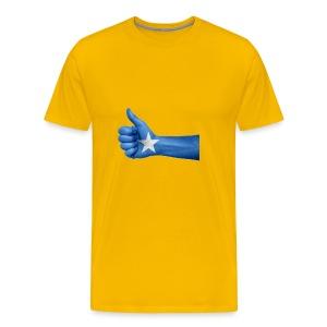 somalia - thumps Up - Men's Premium T-Shirt