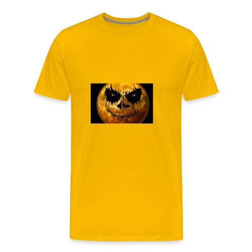 moon for halloween - Men's Premium T-Shirt