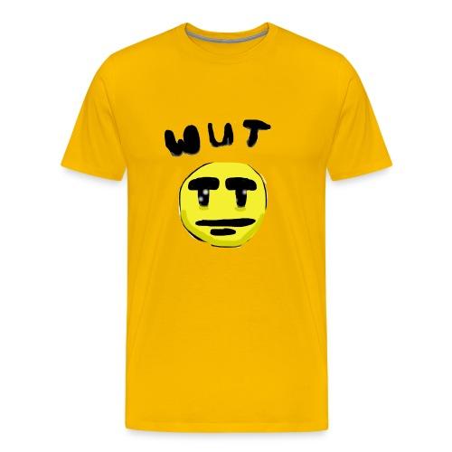 Wut Face - Men's Premium T-Shirt
