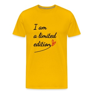 I am a limited edition - Men's Premium T-Shirt