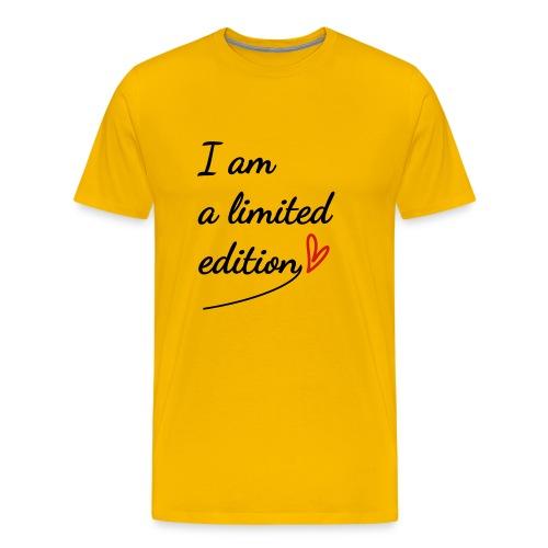 I am a limited edition - Men's Premium T-Shirt