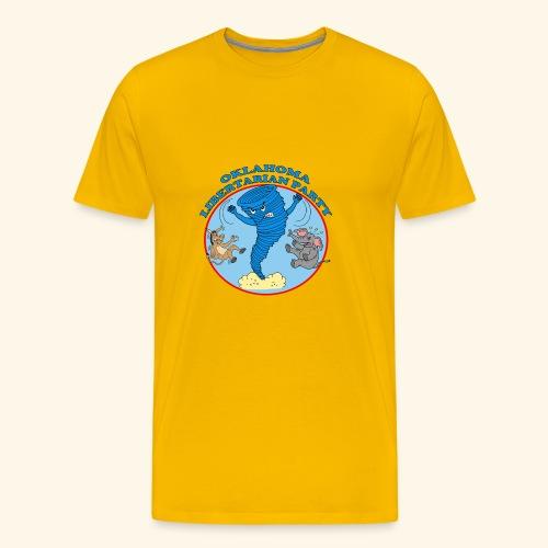 Oklahoma Libertarian - Men's Premium T-Shirt