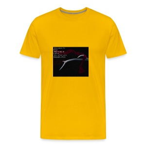 The cross is bare - Men's Premium T-Shirt