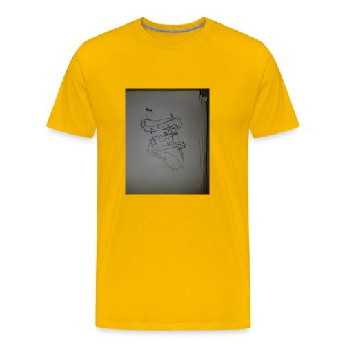 Tattoo Machine Hoodiez - Men's Premium T-Shirt