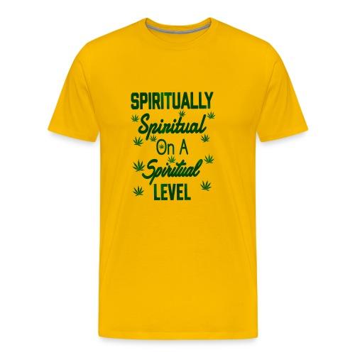 Spiritually Spiritual on a Spiritual Level - Men's Premium T-Shirt