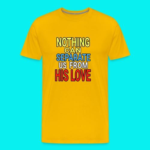 Dave The Cat Big Word Tees! Nothing! - Men's Premium T-Shirt