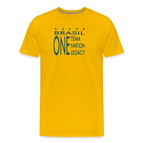 One Team Nation Legacy - Men's Premium T-Shirt