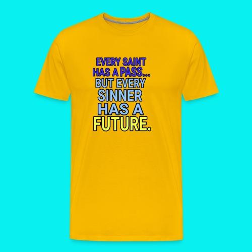 Dave The Cat Big Word Tees! SP! - Men's Premium T-Shirt