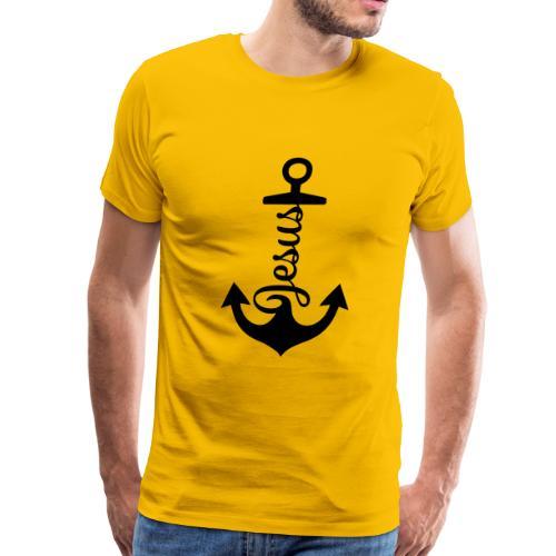 Jesus anchor - Men's Premium T-Shirt