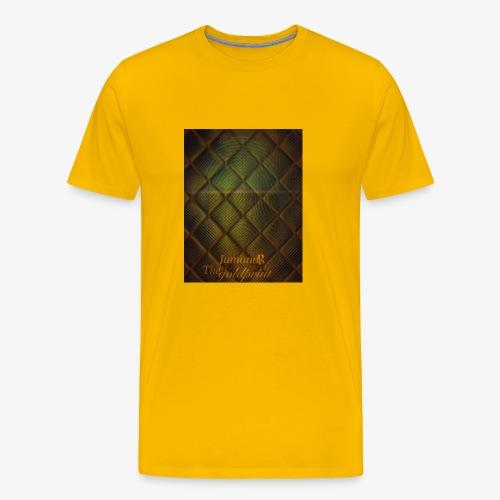 JumondR The goldprint - Men's Premium T-Shirt