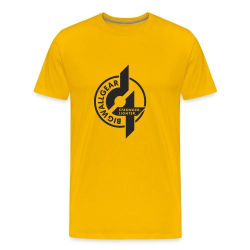 D4 fly Logo - Men's Premium T-Shirt