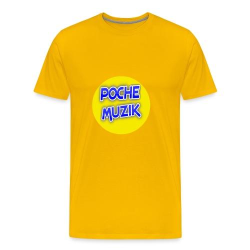 poche MUZIK - T-shirt premium pour hommes