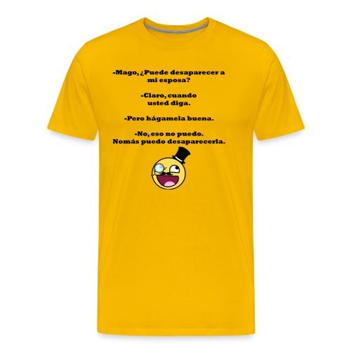 hagamela buena - Men's Premium T-Shirt