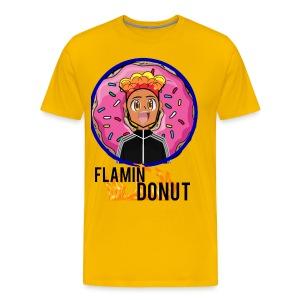 FLAMIN DONUT MERCH - Men's Premium T-Shirt