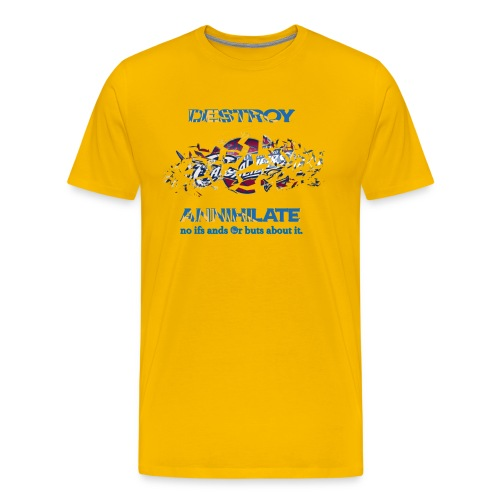 Golden State Warriors Yellow - Men's Premium T-Shirt