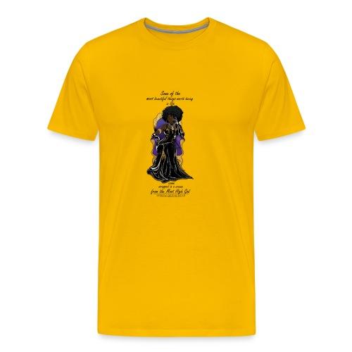 Hebrew queen readytoprint - Men's Premium T-Shirt