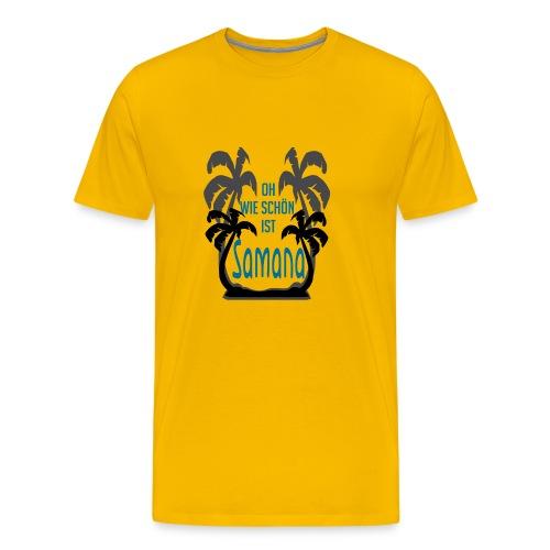 Oh how nice is Samana Carib Las Galeras - Men's Premium T-Shirt