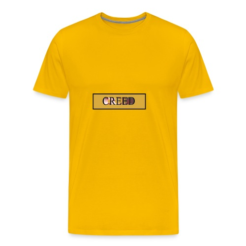 Creed - Gold Collection - Men's Premium T-Shirt