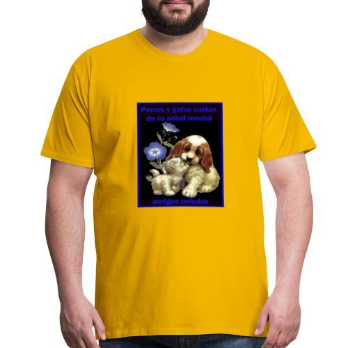 MASCOTAS Y SALUD - Men's Premium T-Shirt