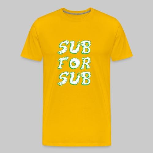 GREEN SLIME - Men's Premium T-Shirt