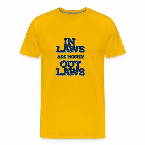 Inlaws outlaws - Men's Premium T-Shirt