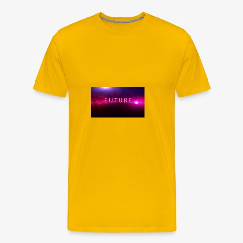 The future begins - Men's Premium T-Shirt