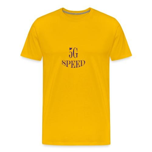 5G SPEED T-SHIRT - Men's Premium T-Shirt