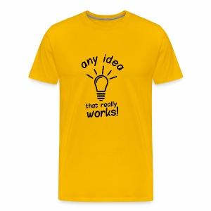 idea - Men's Premium T-Shirt